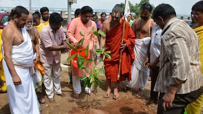 Plantation around Vijaya Keeladri, Sitanagaram