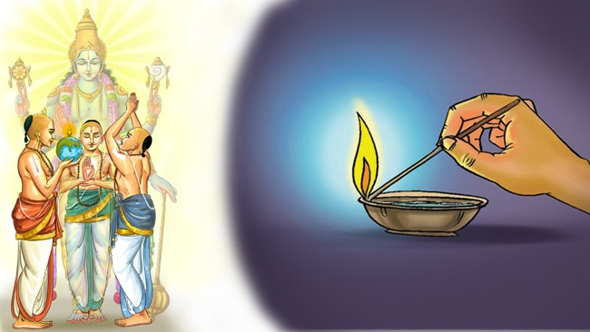 This Kartheeka Masam – Light up the deepam within you, the manas!