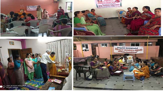 The VT Members Conducted Weekly Sathsang