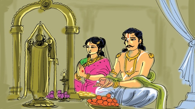 ToWhy do we offer food to Deity when He does not eat it?