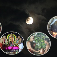 Krushna disappears momentarily on this beautiful night of full moonlight - Why