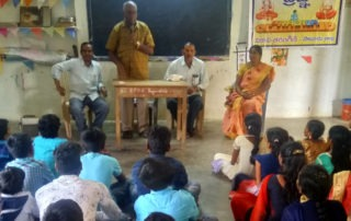 Prajna program conducted at Bagu valasa high school(Salur)
