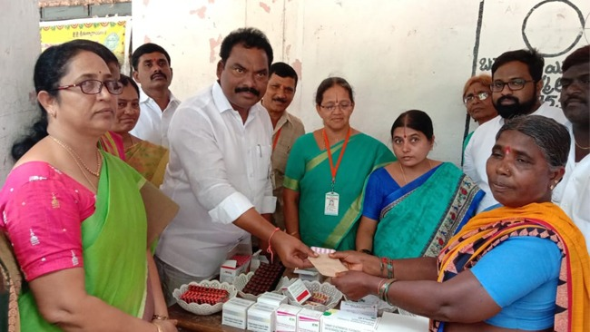 Mahila Arogya Vikas Conducted Medical camp at Karimnagar, Telangana