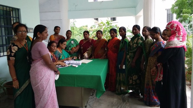 Mahila Arogya Vikas Conducted Medical camp at Khammam,Telangana
