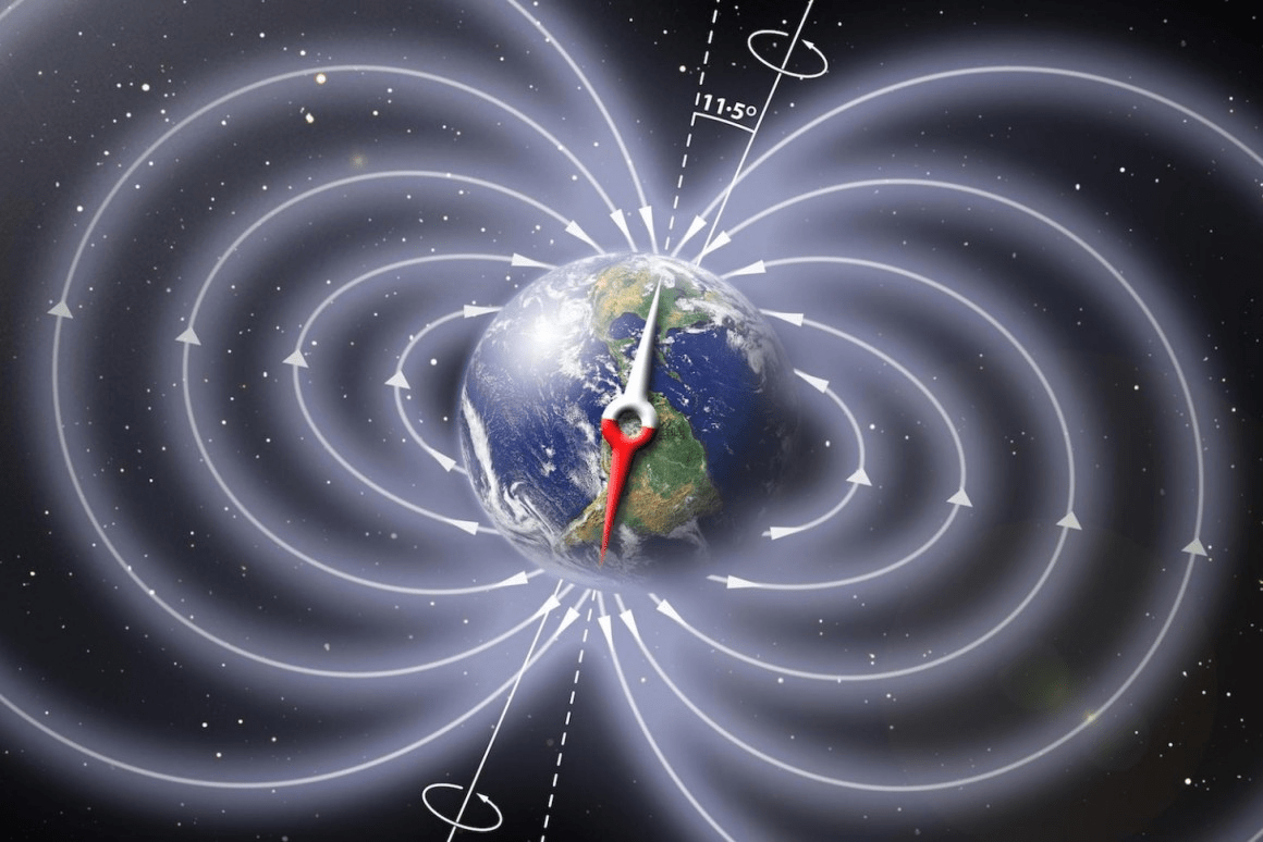 magnetic fields around Earth